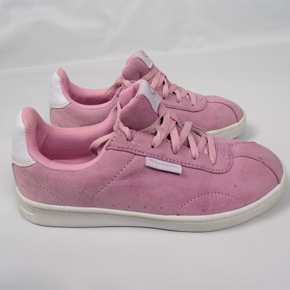 e178906d5a964 Champion Other - Champion Girls Pink Faux Suede Sneakers